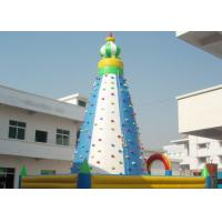 Wholesale Tall Inflatable Sport Games / Climbing Wall For Amusement Park from china suppliers