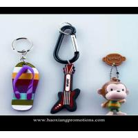 Wholesale Custom 3d soft pvc keychain key chain / Soft Rubber Keychains / Silicone Keyring from china suppliers