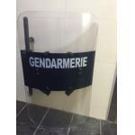 China Transparant Police Anti Riot Shield for  Senegal GENDARMERIE for sale