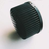 Wholesale Anodize Finished Pin Fin Heat Sink With Black Body Color D140mm * H70mm Size from china suppliers