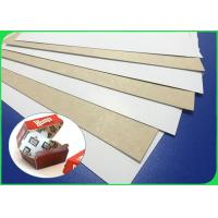 China FSC Certified 250gsm 300gsm Coated White Top Kraft Board For Packing Boxes for sale