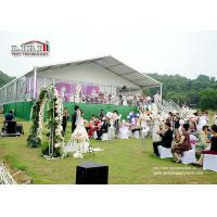China Aluminum And PVC White Face Summer 20x30 Party Wedding Ceremony Tent on sale