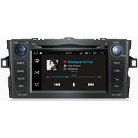 Quality Ouchuangbo car audio 1024*600 android 7.1 for Toyota Auris 2008-2011 with for sale
