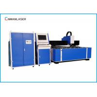 Wholesale 1200W Big Power Fiber Laser Cutting Machine , Aluminum Steel Metal Laser Cutter from china suppliers