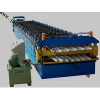 Wholesale Color Coated Roof Panel Roll Forming Machine , Roof Tile Forming Machine For Metal Sheet from china suppliers