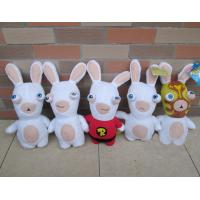 China Lovely Rayman Raving Rabbids Cartoon Plush Toys White Cute Custom on sale