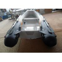 China 3.5m Aluminum Commercial Boats , Lightweight Aluminum Hull Boats With PVC Tube on sale