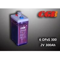 Wholesale 12V 6 OPzS300 Wind Solar Power Telecom Application Tube ABS Battery from china suppliers
