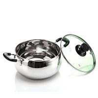 Buy cheap Mirror Finished Stainless Steel Cooking Pans , High Polishing ss Cooking Pots from wholesalers