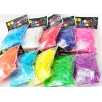 Family Silicone DIY Colourfull Rainbow Loom Bands Rainbow Colorful Loom Rubber Bands for sale