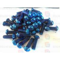 Wholesale gr5 ti6al4v titanium buuton head torx screwsTi6Al4V Gr.5 3.7164,3.7165 from china suppliers