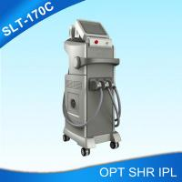 Buy cheap Three Handles SHR IPL Hair Removal Machine For Skin Rejuvenation , Freckle from wholesalers