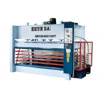 Wholesale Doors Particle Board Plywood Hot Press Machine 5 Layers 2500x1300x42mm from china suppliers
