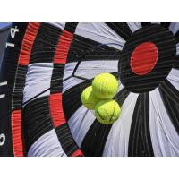 Quality Custom Interactive Game Inflatable Football Dart / Inflatable Soccer Darts For Kids for sale