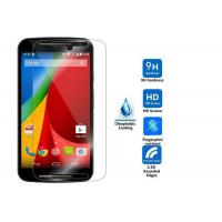 Asahi 2.5 D Tempered Glass Anti Fingerprint Screen Protector Shatterproof For Moto G