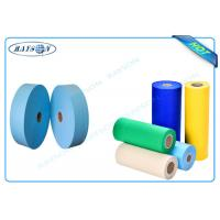 Wholesale Biodegradable PP Spunbond Elastic Nonwoven Fabric , Non Woven Polypropylene Material from china suppliers