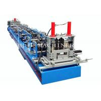 China 80-300 mm Automatic C&Z Purline ChangeableRoll Forming Machine on sale
