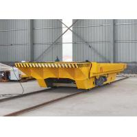 China VFD Device Towed Electric Transfer Cart 0 - 20m / Min Running Speed Easy To Use on sale