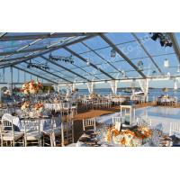 Wholesale Transparent Fabric Aluminum Frame Tent Outdoor Wedding Marquee Party Event from china suppliers
