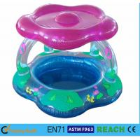 Wholesale Sun Shade Type Inflatable Toddler Pool Silk Screen Printing For Outside Playing from china suppliers