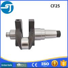 China Changfa CF25 diesel engine parts casting engine crankshaft prices for sale