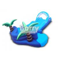 Wholesale Jungle Lawn Inflatable Water Slides Coconut Tree Inflatable Slip N Slide For Kids from china suppliers