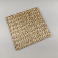 China Bamboo Style Laminating PVC Wall Panels , PVC Bathroom Wall Cladding Decoration for sale