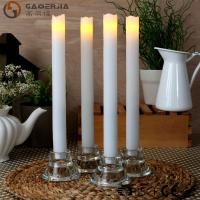 Wholesale Remote Control Taper Candles , Flameless Taper Candles With Timer from china suppliers