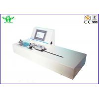 Buy cheap ASTM F1921 Flexible Package Hot Tack Testing Machine with PLC Control from wholesalers