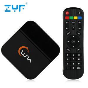 Black Luna Spanish IPTV Box 4K Android 5.1 1GB DDR3 RAM 8GB ROM