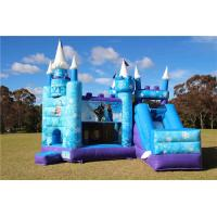 Buy cheap Waterproof Frozen 5 In1 Combo Jumping Castle / Inflatable Bounce House Outdoor from wholesalers