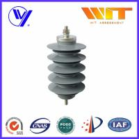 Wholesale Lightning Protection Equipment Polymeric Metal Oxide Surge Arrester 10KA , 24KV from china suppliers