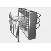 Wholesale Entrance Security Barrier Turnstile Gate With Card Reader , Visitors Access Control from china suppliers