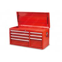 China PreCut Drawer Liners Mobile Tool Storage , Red Tool Box Top Cabinet 1045*450*526 Mm for sale