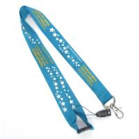 Wholesale Silk Screen Colorful Logo 100% Nylon Neck Strap, Safety Breakaway Lanyards from china suppliers