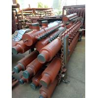 Wholesale Industrial Steam Boiler Manifold Headers , CFB Boiler Header With Longitudinal Welded Pipe from china suppliers