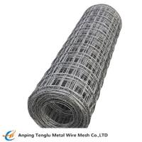 China Heavy Welded Mesh Rolls PVC Coated Mesh with 50 x 50mm Square Hole for sale