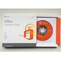 Wholesale Original Microsoft Office Standard 2016 License With DVD Media Retail Box from china suppliers