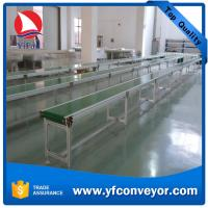 China Aluminium Frame Customizer Conveyor Belting Belt Conveyor on sale