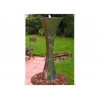 Wholesale Modern Landscape Stainless Steel Water Features For The Garden , Mirror Polishing from china suppliers
