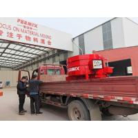China Mt100 Pan Refractory Mixer Machine Low Noise One Bottom Scraper for sale