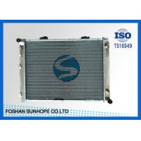 Wholesale Cross Flow Brazing Aluminum Radiator BENZ 190D/W201'82-93 High Cooling Efficiency from china suppliers