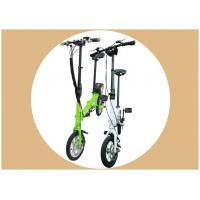 "Quality 12"" Portable Electric Bike 4 Color Single Speed 2 Wheels For All People for sale"