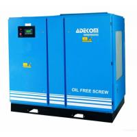 Wholesale Adekom Oil Free Rotary Screw Air Compressor from china suppliers
