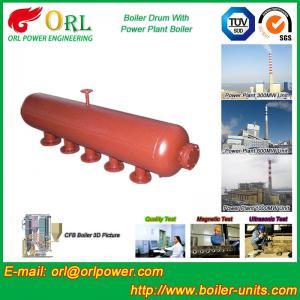Wholesale Water Heat Boiler Mud Drum Anti Wind Single Type , Mud Drum In Boiler from china suppliers