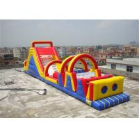 Wholesale Attractive Inflatable Obstacle Course For Blow Up Kids And Adults Games from china suppliers