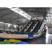 Wholesale Colored Fire Retardant Commercial Inflatable Giant Slide With Pool from china suppliers