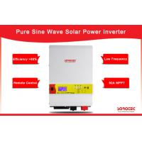 Buy cheap High Quality Output Power Factor 0.9-1.0 5kW 48V Solar Inverters with LCD Display from wholesalers