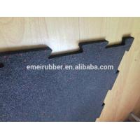 Wholesale indoor excercise rubber floor tile from china suppliers