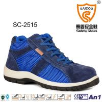 Wholesale High Cut  light weight sportive Work and safety boots with composite toe cap from china suppliers